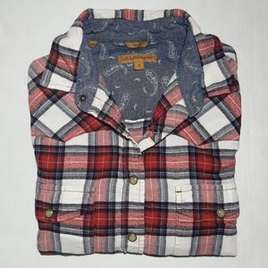 Jachs Girlfriend BEA 100% Cotton Flannel Shirt